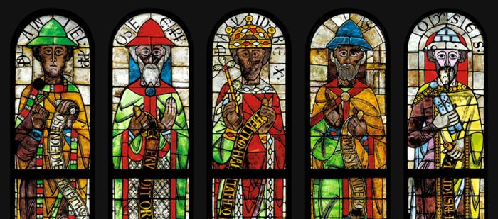 Augsburg Dom, Langhausobergaden, Augsburg, Prophetenfenster