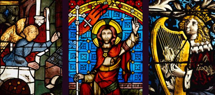 Mönchen-Gladbach, St. Vitus, Bibelfenster