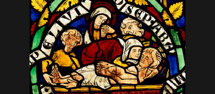 Esslingen, St. Dionys, Bibelfenster